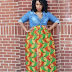 Photo Collection of 1000 Veautiful Ankara Gowns, Skirt and Blouse Pics