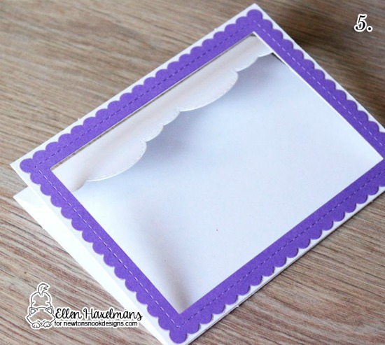 Interactive Easter Card by Ellen Haxelmans | Frames & Flags Die Set by Newton's Nook Designs #newtonsnook #handmade