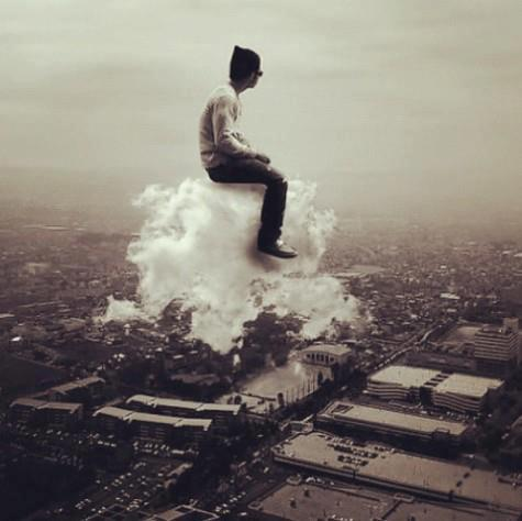 Taking A Ride On Air Cloud