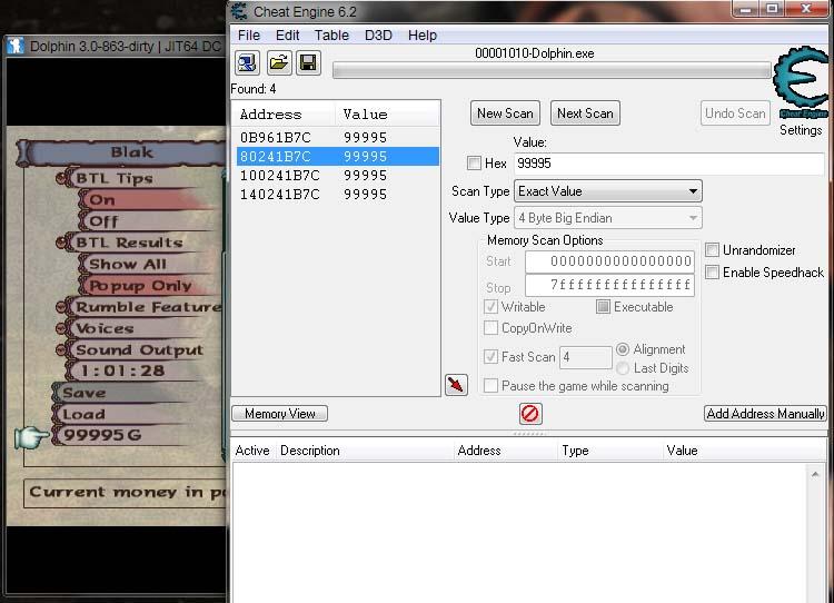 How to make Cheat Engine Working on Dolphin Emulator | Blakbin