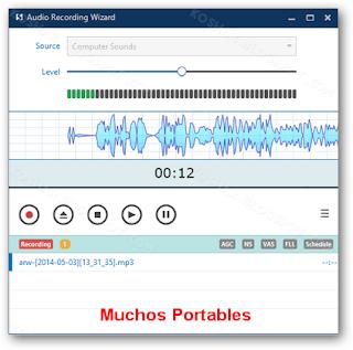 Audio Recording Portable