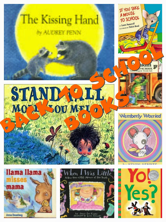 Back to School Books For Preschool