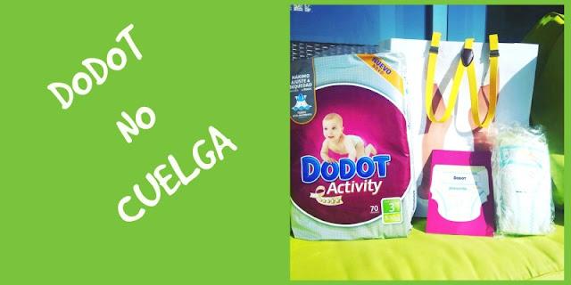 Probando los nuevos Dodot Activity: #DodotNoCuelga