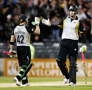 New Zealand vs India 1st T20I 2009 Highlights