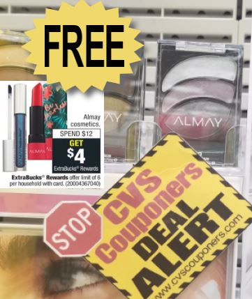 FREE Almay Eye Shadow Trios CVS Deal