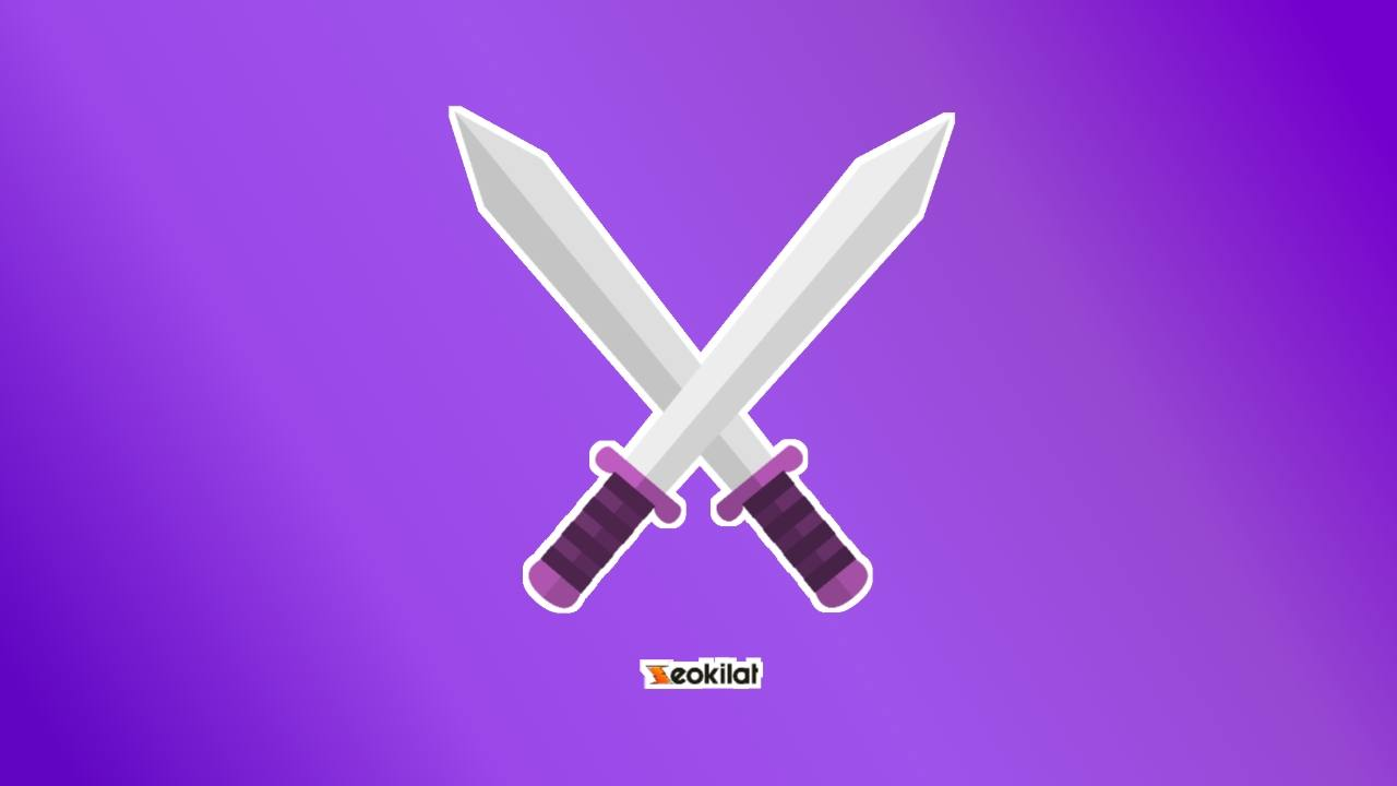 Icon sword PNG transparan