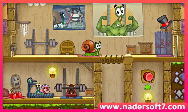 تحميل لعبة الألغاز Snail Bob 2 للكمبيوتر برابط مباشر