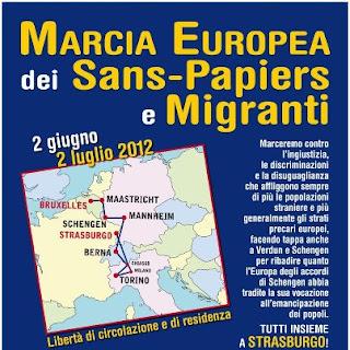 Il pappo la marcia europea dei senza permesso di soggiorno for Regolarizzare badante senza permesso di soggiorno