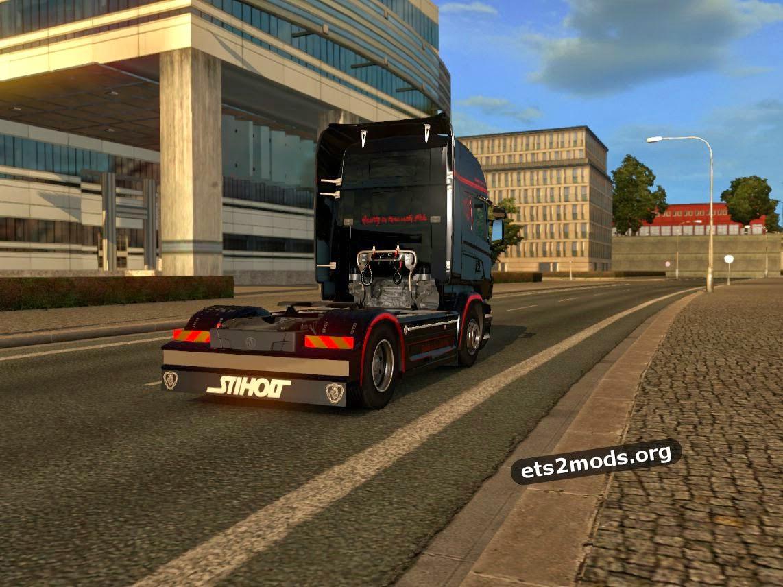 Scania RJL No Mercy skin