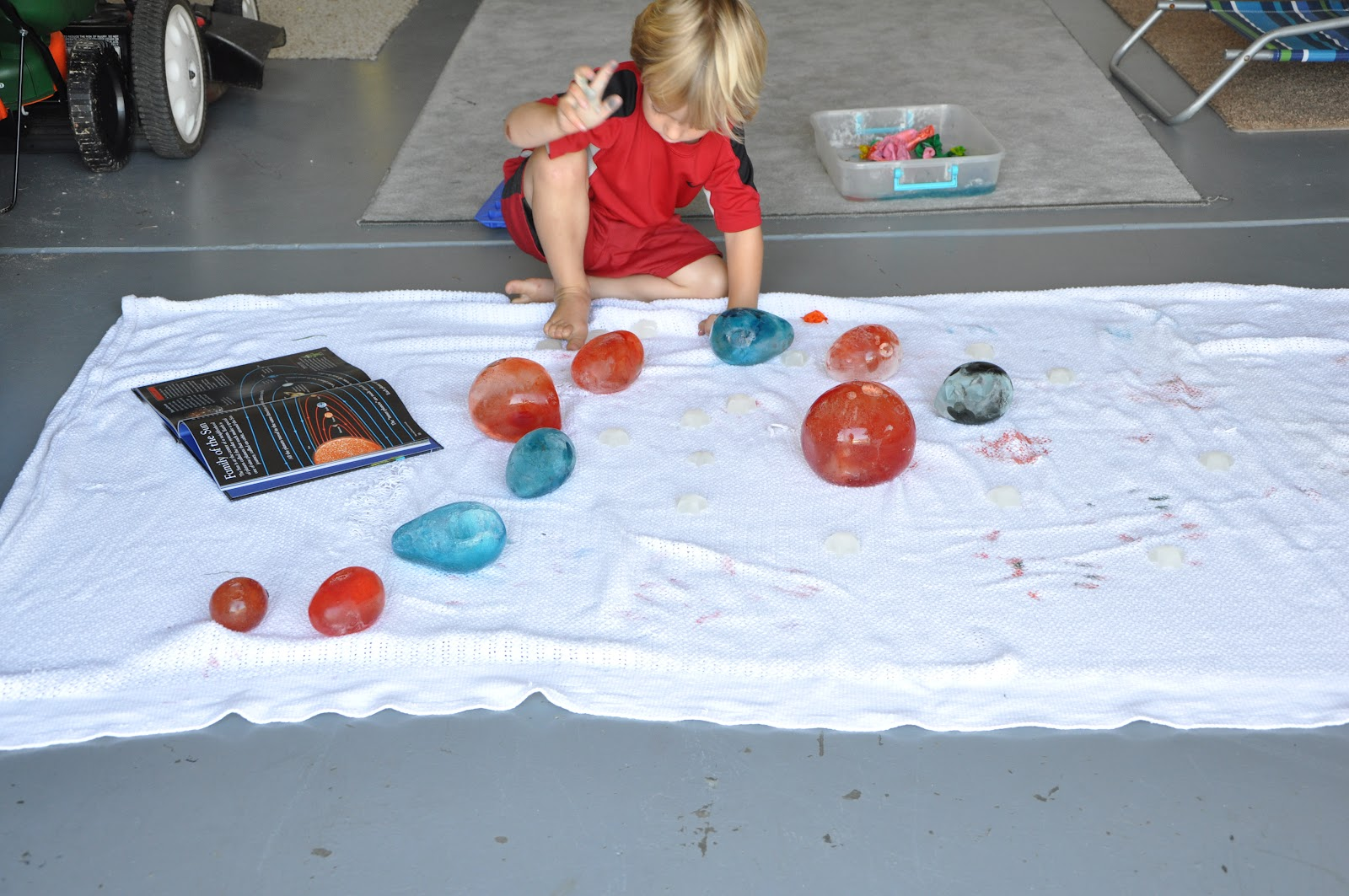 Play At Home Mom LLC: Solar System - Summer Style
