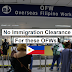 OFW Travel Update: No Immigration Clearance for these Filipinos