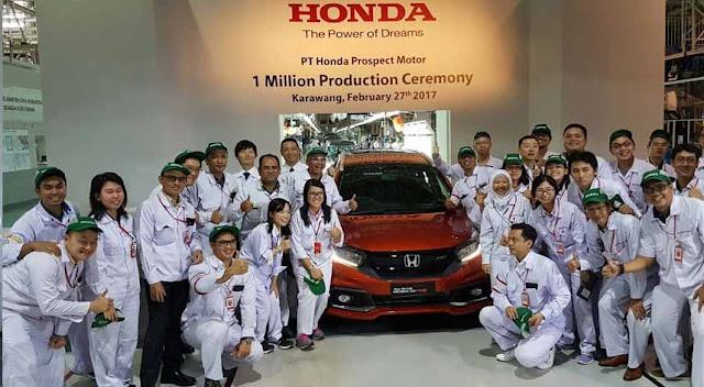 Lowongan Kerja SMA SMK D3 S1 PT. Honda Prospect Motor, Jobs:Cars Mechanic,Talent Placement Staff, Advertisement Staff.