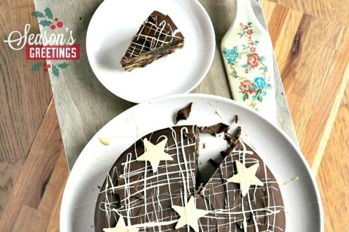 Chocolate Orange Biscuit Cake: An Alternative Christmas Cake
