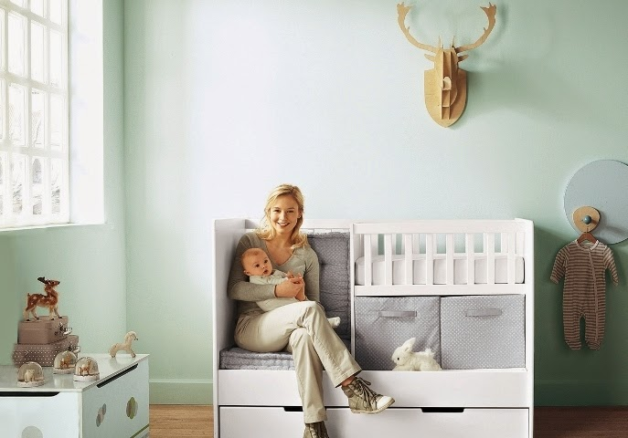 top nursery wall paint color ideas for 2012