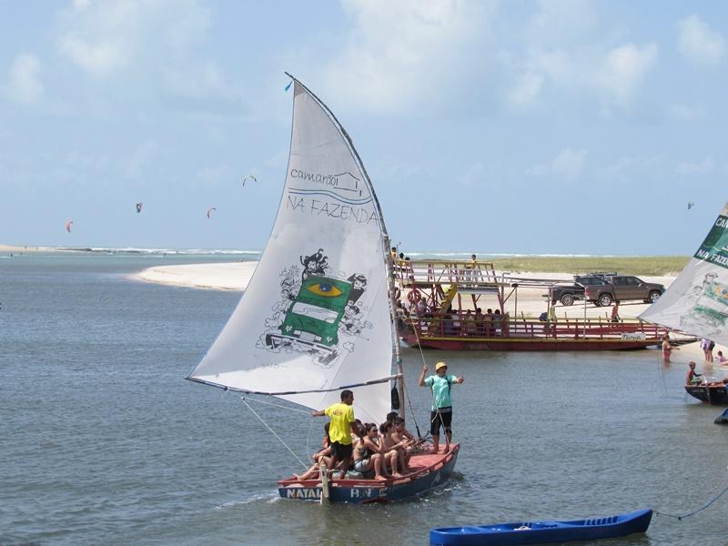 Passeio de Barco em Barra do Cunhaú