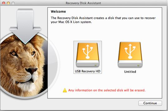 Create a bootable Recovery USB disk