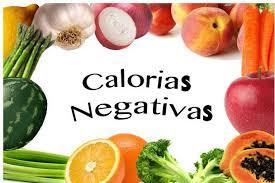 Bajar de peso con Comida con Calorías Negativas