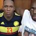 La selección Colombia celebra el triunfo con la plata de Diomedes en parranda