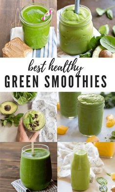 Matcha, Avocado Green Smoothie