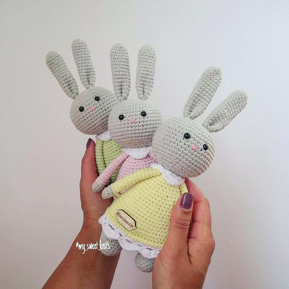 Amigurumi Bunny Doll Pattern   1008x1008