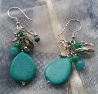 world vision drops of turquoise earrings
