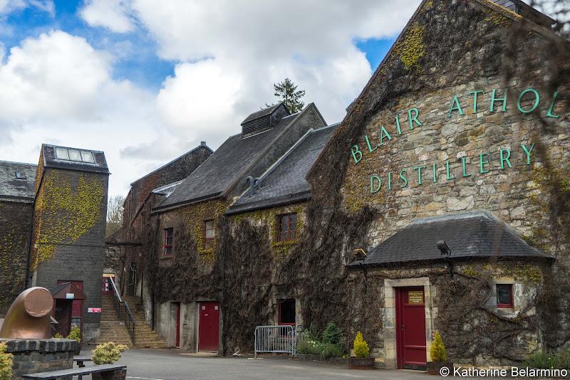 Blair Athol Distillery Scottish Highlands Road Trip Itinerary