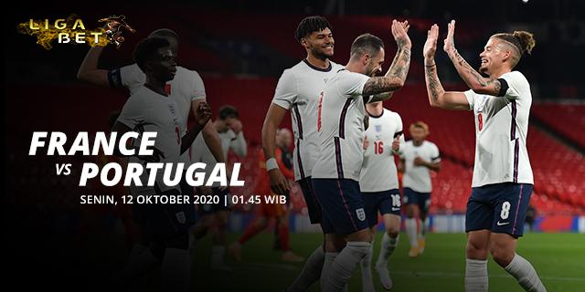 PREDIKSI PARLAY FRANCE VS PORTUGAL SENIN 12 OKTOBER 2020