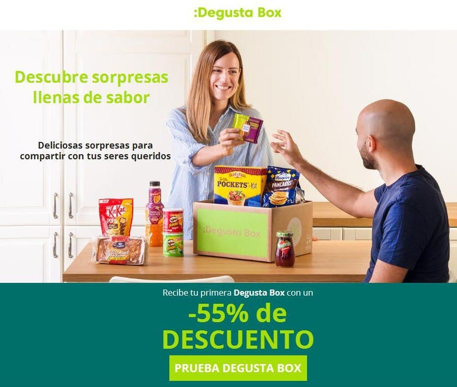 Degusta Box de septiembre por solo 6,99€