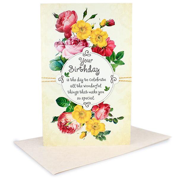 Birthday Greetings Cards
