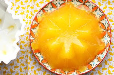gelee gin orange fleur d'oranger