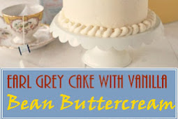 Earl Grey Cake with Vanilla Bean Buttercream