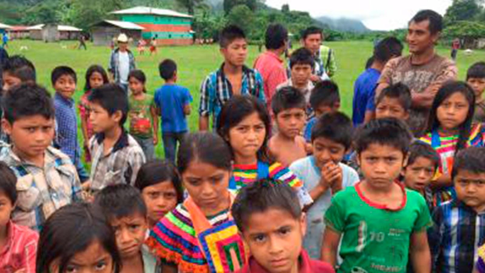 El frío y el hambre ya causo muertes de niños en chiapas mientras Velasco hace fiesta para Meade