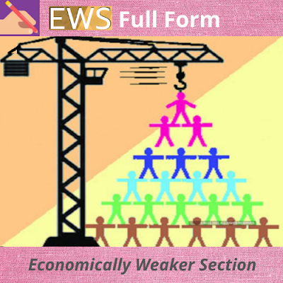 EWS Full Form In Caste