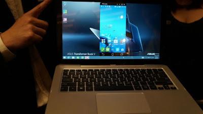Cara menghubungkan Android ke Komputer menggunkan PC LINK Asus Zenfone 2