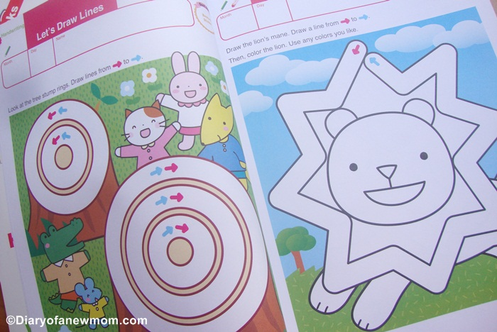 Activity from Gakken Go Go Mazes 3-5 yrs workbook