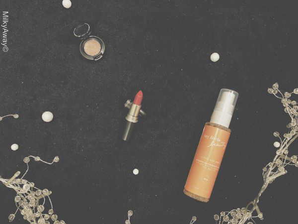 Maquillages et cosmétique de la My Little Box x MAC du mois de décembre