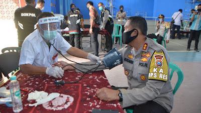 Polres Situbondo Menggelar Giat Sosial Donor Darah