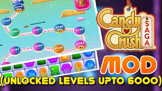 Candy Crush Saga Latest MOD
