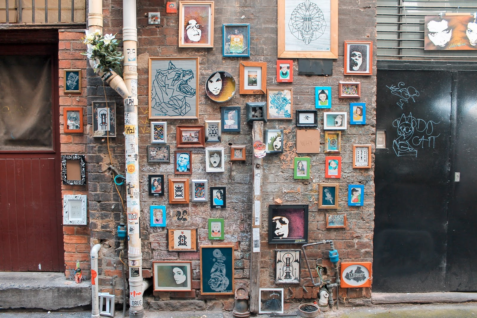 Laneway art in Melbourne, Travel Guide
