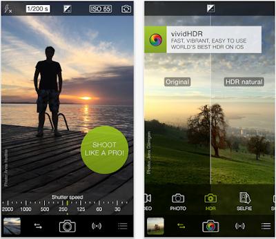 Aplikasi Kamera iPhone Terbaik - Pro Camera 8