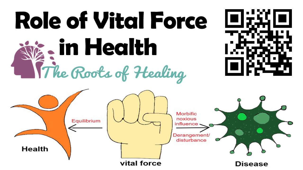 Role of Vital Force in Health
