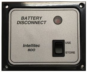 Intellitec Battery Disconect Switch Panel
