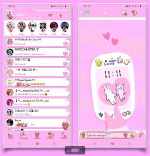 My Phone Theme For YOWhatsApp & KM WhatsApp By Agatha