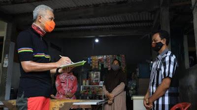 gubernur ganjar menjadi pendata bkkbn