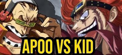 Eustass Kid Vs Scratchmen Apoo Prediksi Komik One Piece Chapter 981
