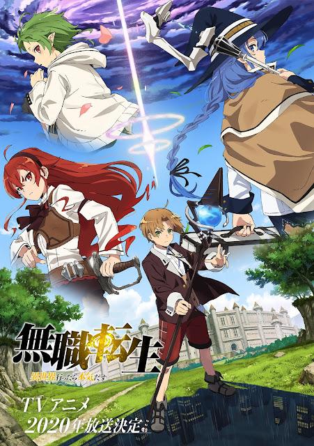 Jobless Reincarnation Anime Trailer