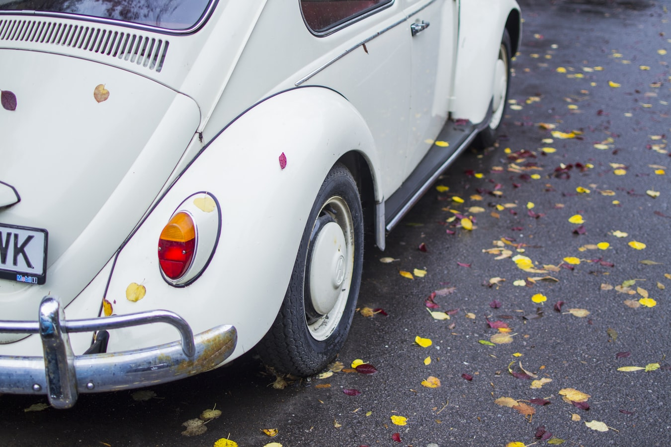 VW Beetle Tyre replacement