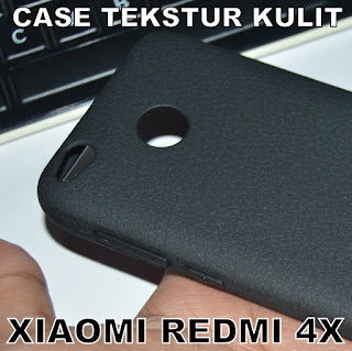 TPU-Jelly-Softcase-Leather-Texture-Case-Tekstur-Kulit-Xiaomi-Redmi-4X