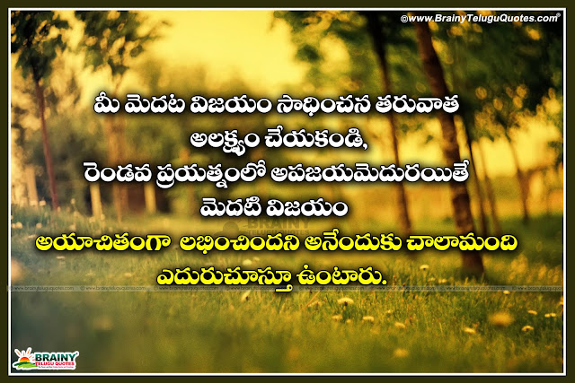 Lessons Learned In Life Quotes In Telugu For Success