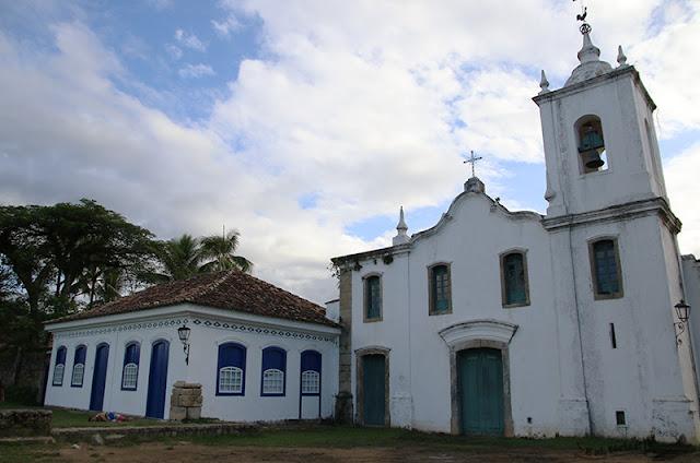 Igreja de Nossa Senhora das Dores, em Paraty.